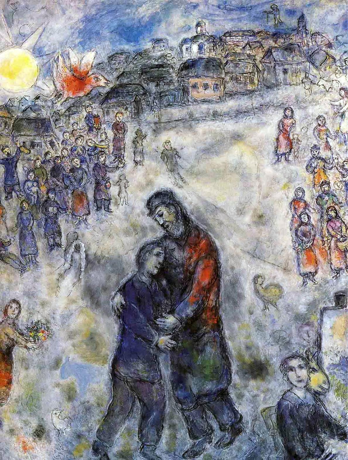 Il padre misericordioso di Marc Chagall.