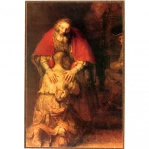 Rembrandt- Ritorno del figliol prodigo.